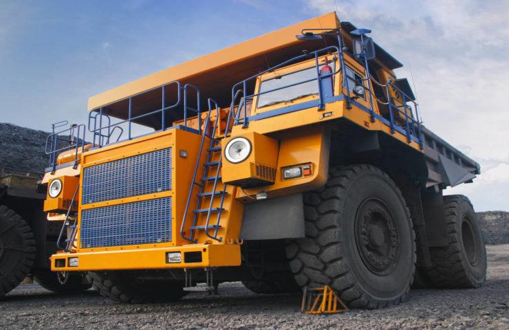 Equipment Dealer, Software, DMS, ERP, Microsoft Dynamics, mining truck standing