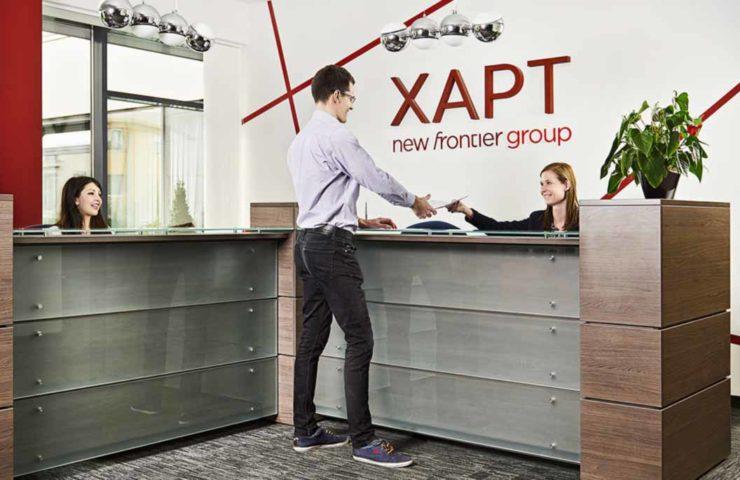 xapt, reception, office, erp, naxt, dynamics 365, microsoft