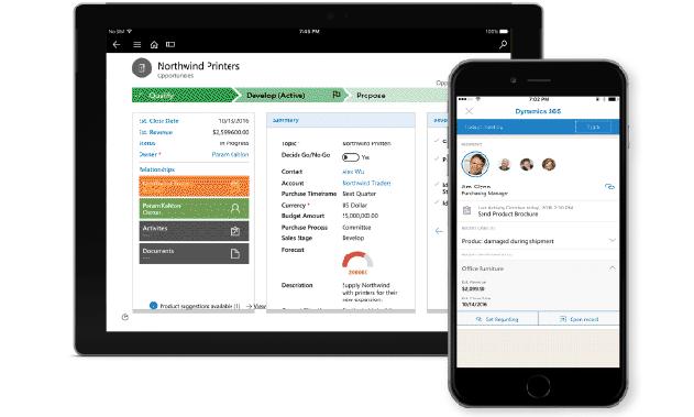 Ügyfél kapcsolat - Microsoft Dynamics 365 értékesítés, sales, vállalatirányítás