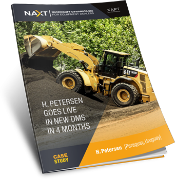 KELLY TRACTOR USES NAXT AS DEALER BUSINESS SYSTEM