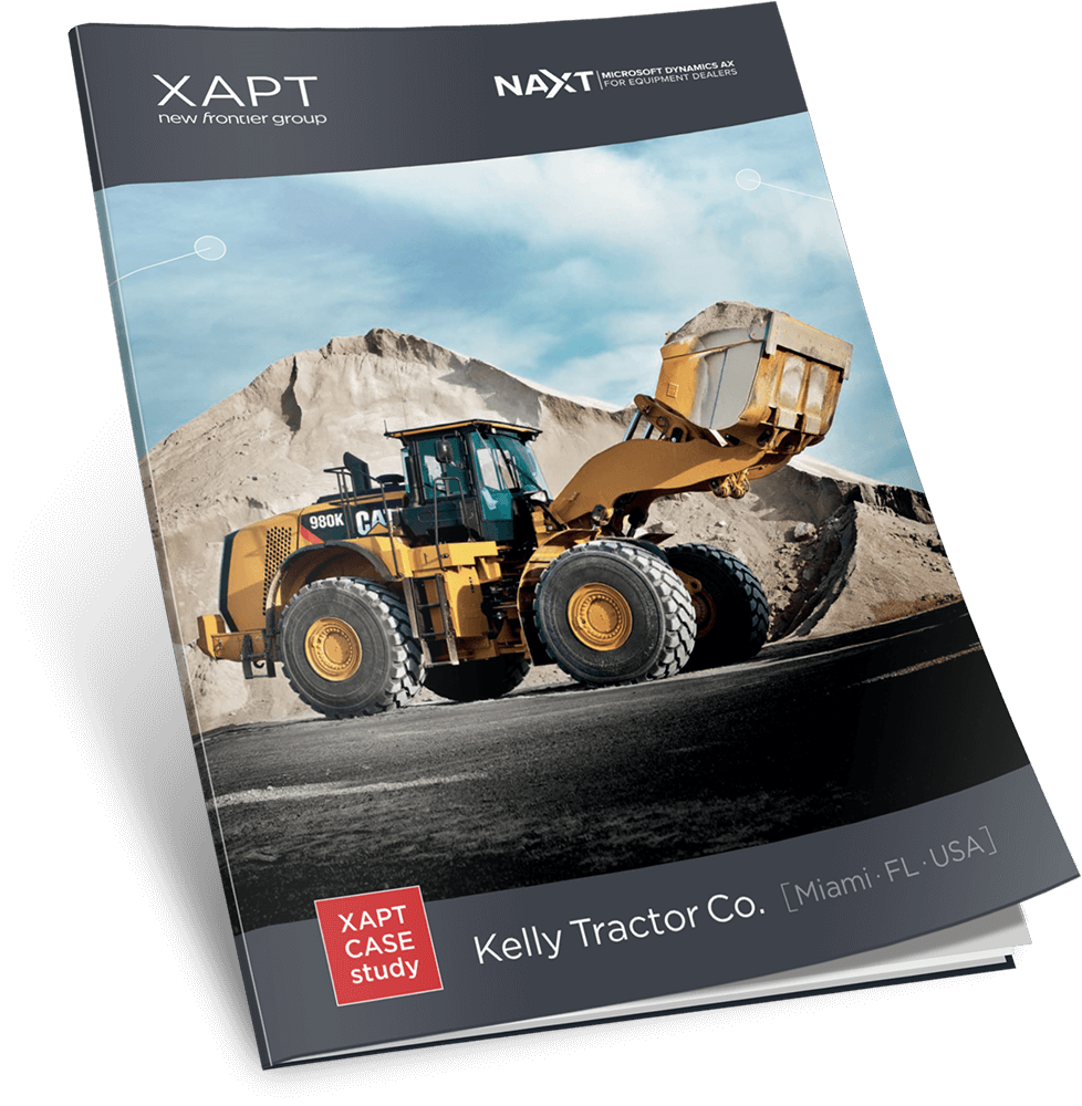 Kelly Tractor Co. uses NAXT – Microsoft Dynamics AX for Equipment Dealers to Drive Growth and Boost Profitability
