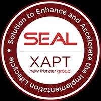 XAPT, SEAL, logo