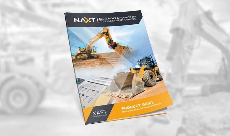 NAXT Product Guide 2018 Equipment Dealer Software