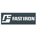 Fast Iron Logo for Heavy Equipment Dealers