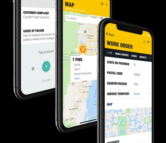 NAXT Customer Engagement Field Service